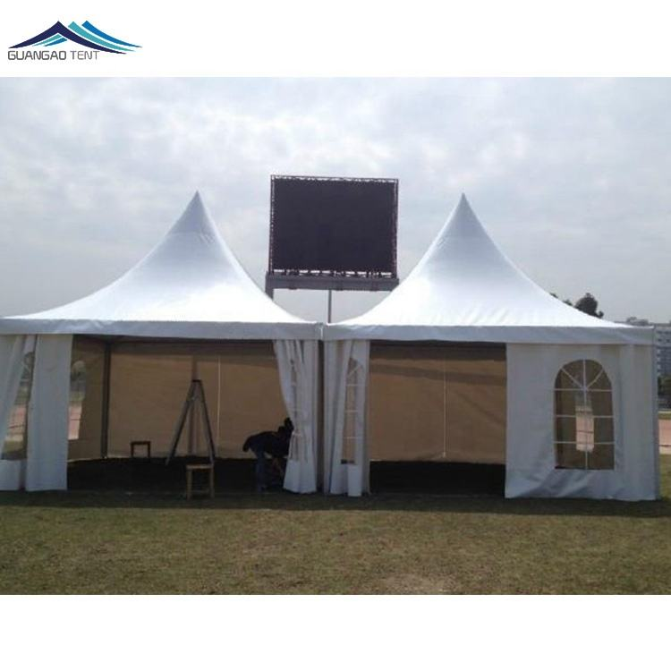 Cheap white professional manufacturer reception pagoda tent 3*3 4*4 5*5 6*6 7*7 8*8 9*9 10*10