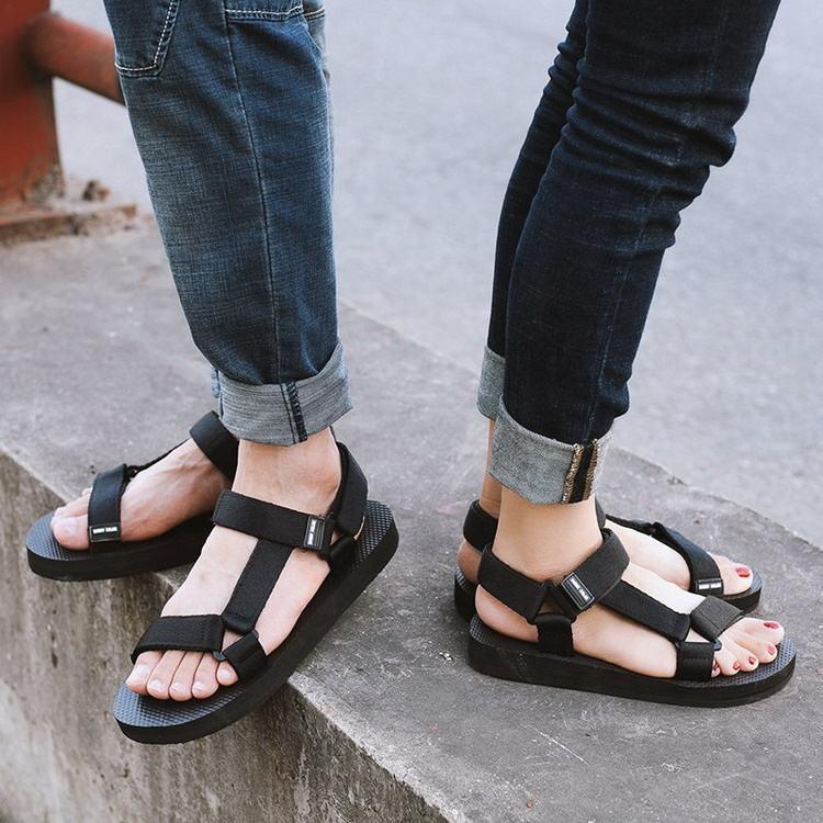 Factory Wholesale Flat Shoes Women Sandal Ladies Handmade Sport Sandals
