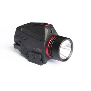 Tactical LED Weapon Gun Light Flashlight Red Dot Laser Sight Military Airsoft Pistol Gun Light for 20mm Rail Mini Pistol Gun
