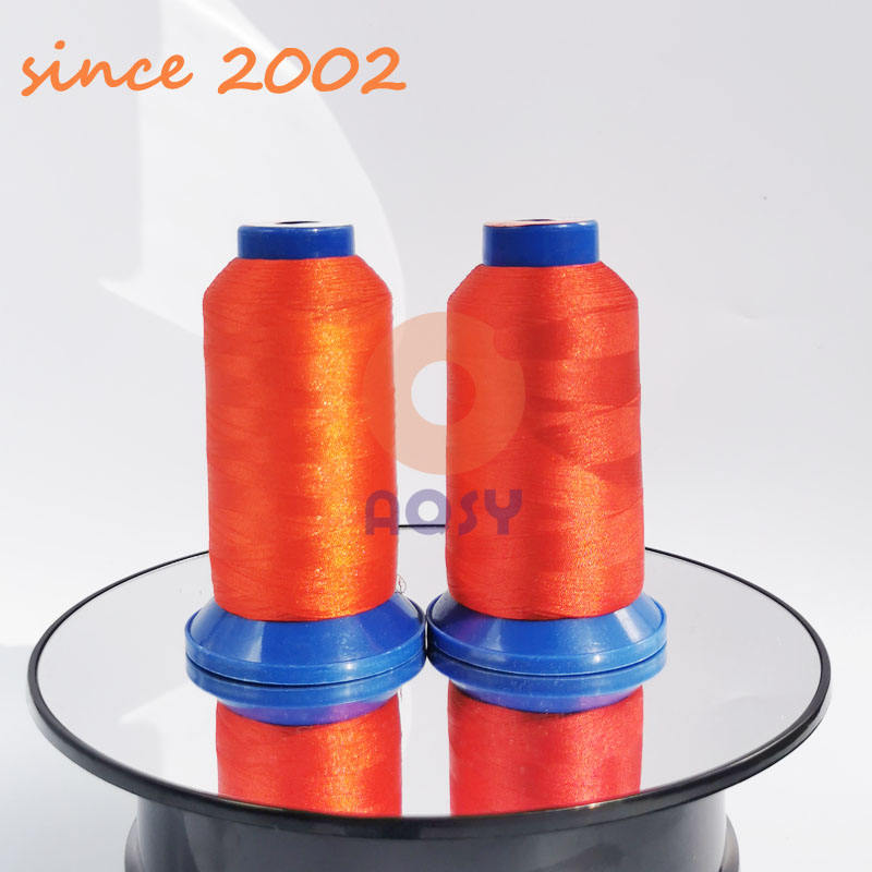 embroidery thread polyester thread 75D2 wire embroidery thread