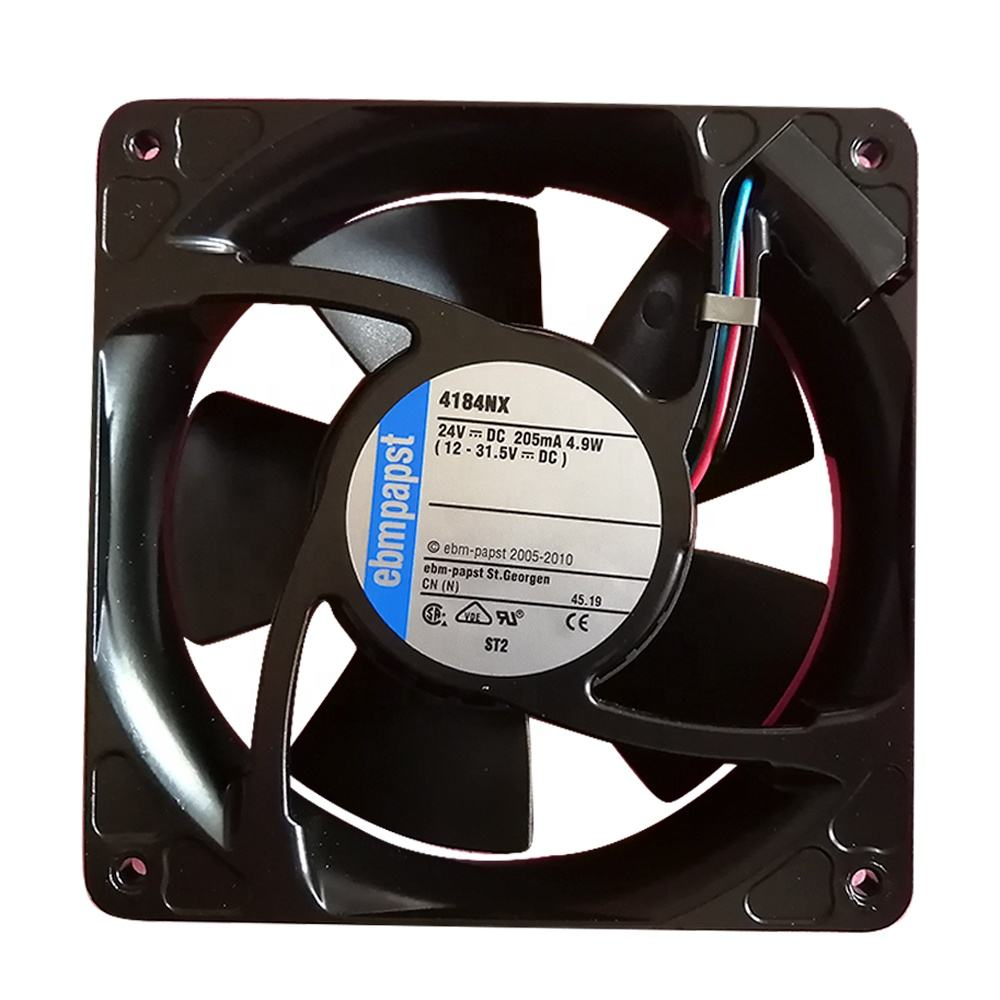 genuine new 120*120*38mm 24V 11W metal frame ebm papst 4184NH cooling fan
