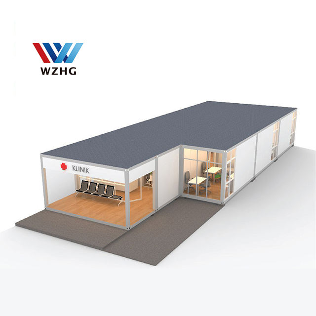 2020 fast build isolation rooms prefabricated house mobile hospital container clinic modular