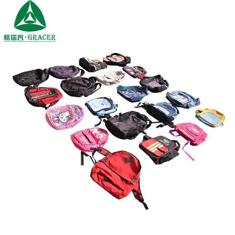 Venta al por mayor de cuero se bolsas pacas se bolsas de la escuela