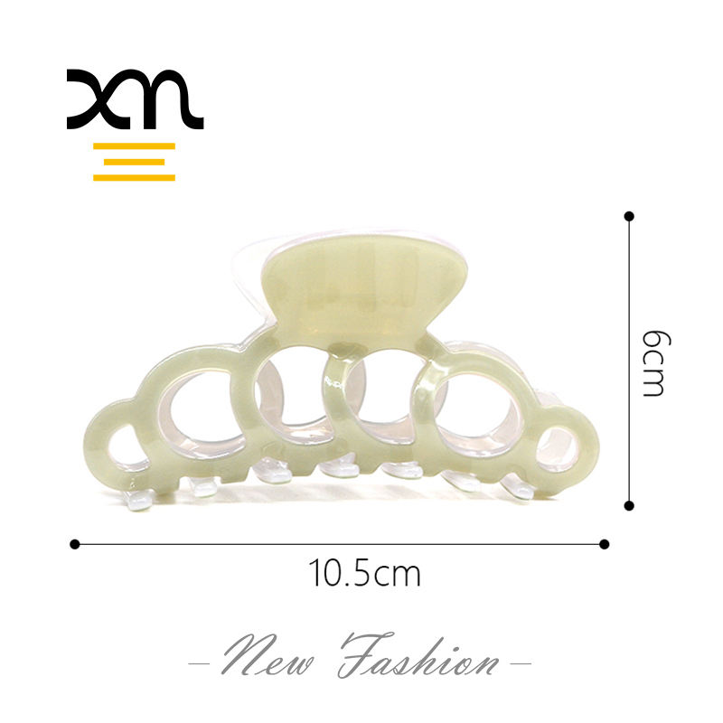 factory wholesale acetate hair claw clips for women korean designer thick hair claw clamp fancy plastic large claw hair clip