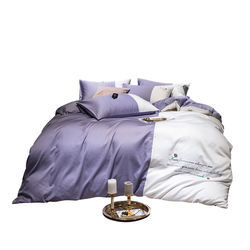 high quality double bedsheet with duvet cover cotton sets be