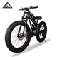 FUJI adult steel frame Lithium battery electric MTB bicycle ebike 26 inch adults FAT mountain bike bicycle cycling