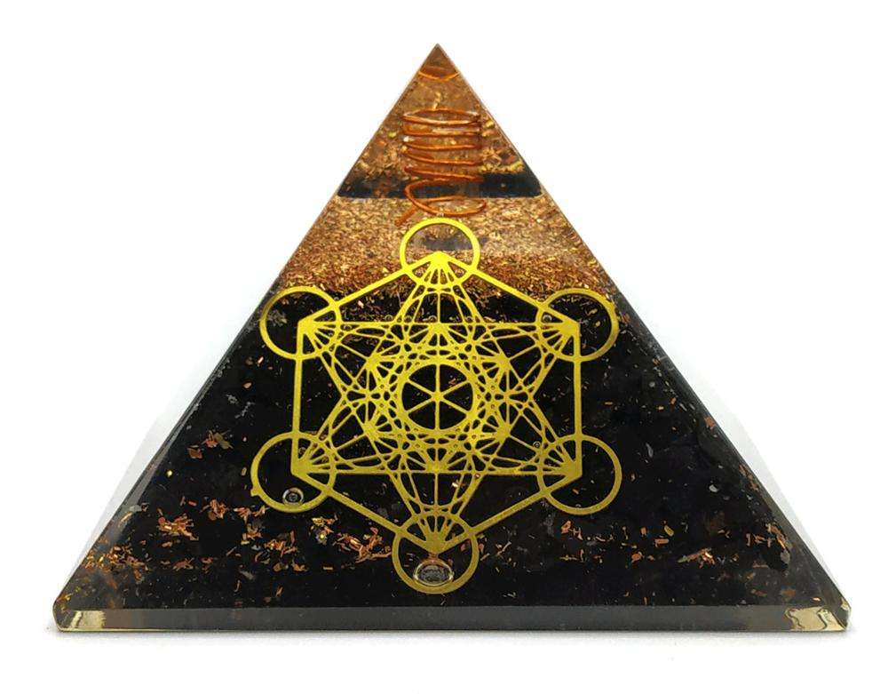 Commercio all'ingrosso Orgone delle Piramidi | Shungite Orgonite Piramide-Metatron Cube Orgone Piramide, Organite Piramide, Guarigione Cristalli