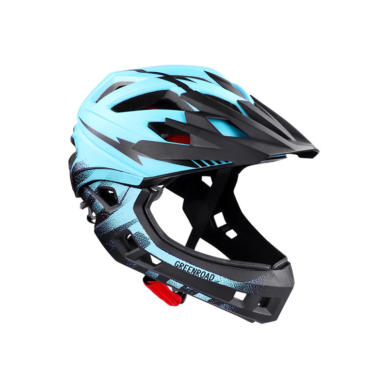 Kid's Helmet Cool Breathable Attachable kids Bicycle Full Cover Helmet Solid Safety Equipments Sports Accessories