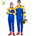 Custom jacket pants industrial fire retardant workwear fireproof safety uniform with logo