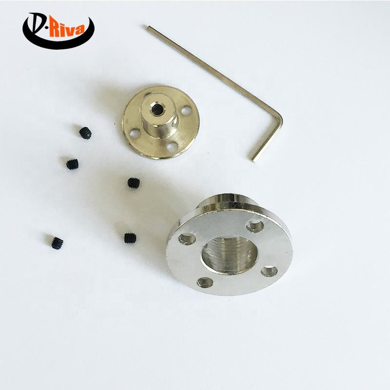 Custom Aluminum rigid shaft couplings