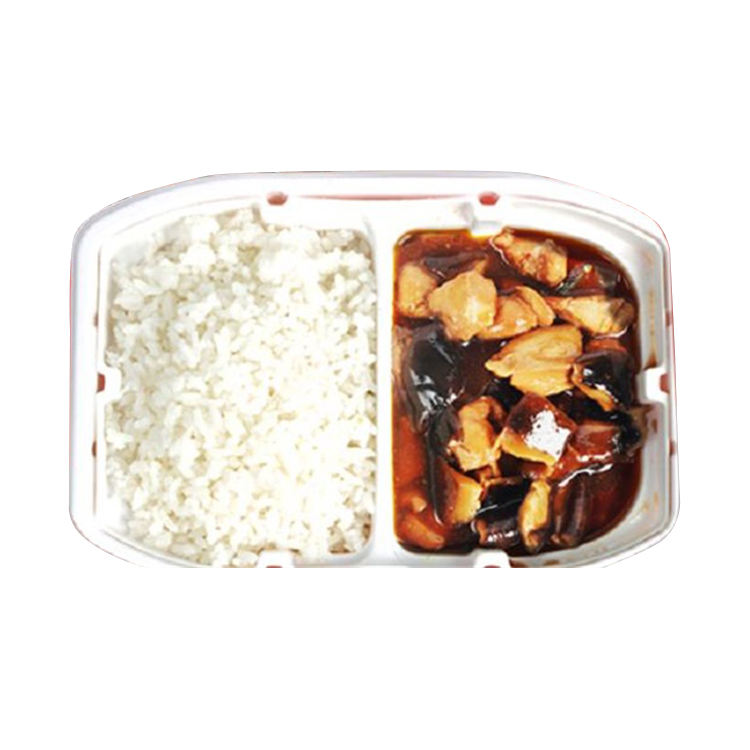 Hot Sale Shiitake Mushrooms Chicken Instant Food Self Heating Rice Ready To Eat Rice