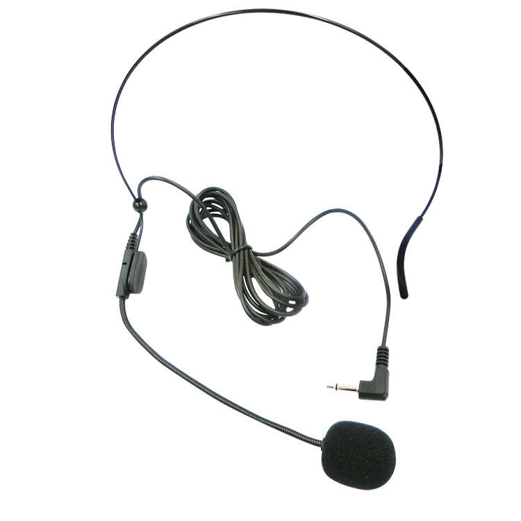 Wholesale teaching headset microphone loudspeaker microphone tour guide ear microphone