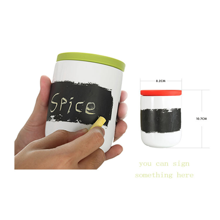 Wholesale good quality custom promotional personalized ceramic kitchen canisters