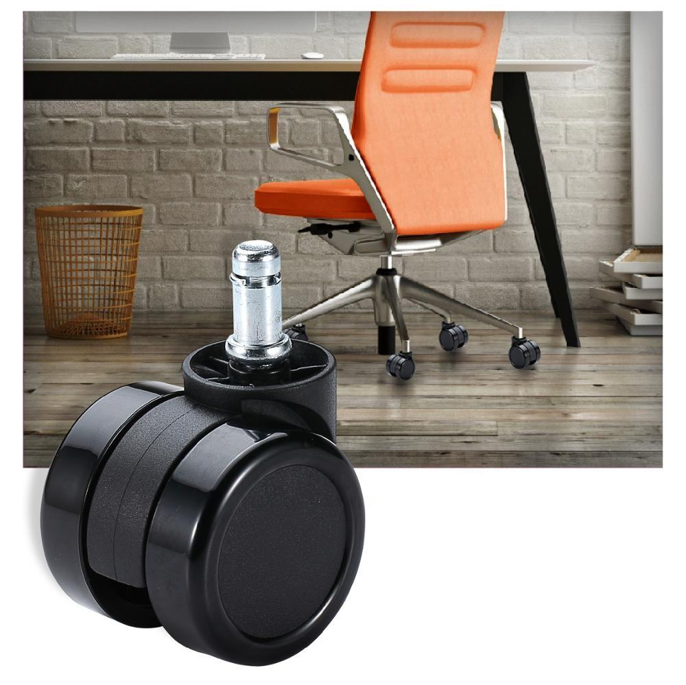 ej test Office Wheel Set 5 Retractable Screw Chair Caster