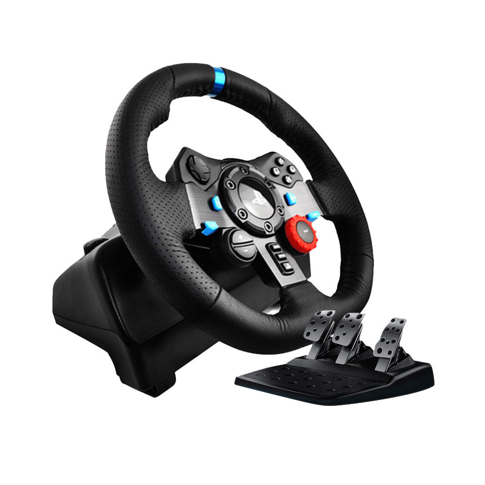 G29 Logitech Driving Force Volante com Pedais para PS3 PS4 Ágil e PC