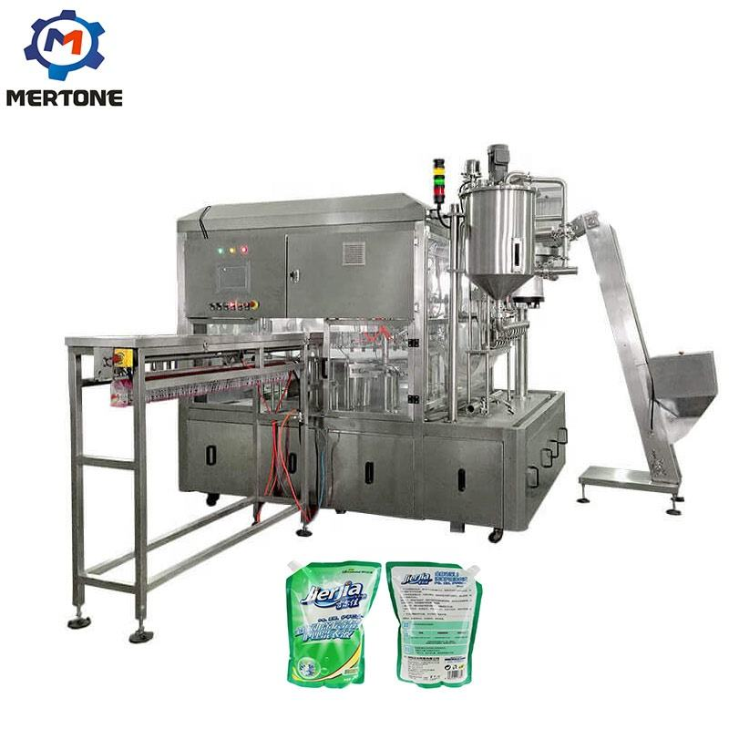 Reliable and Cheap hydrogen water spout pouch filling machine with price