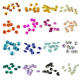 Crystal Beads Diy Crafts High Quality K9 Single Hole Multi-Color Optional 14mm Crystal Glass Octagonal Beads DIY Decorations