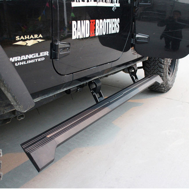 AKM4X4 Car Electric Running Board Car Accessories 4x4 For JEEP WRANGLE 2D JK