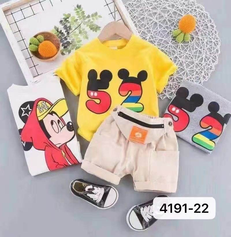 Latest Boys Set Baby Clothing for Kids with Local Price Casual Boy Two Pieces sets