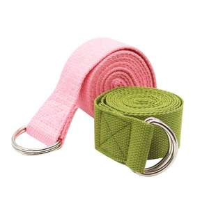 Wholesale cheap100% cotton yoga belt function strap buy online