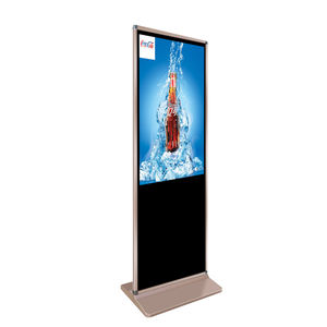 HD 1080P advertising lcd screen display totem player digital signage large multi touch screen monitor equipment stands