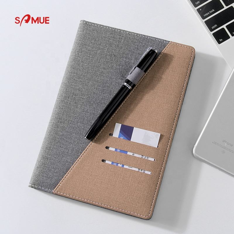 2020 HOT stationery free sample colorful pu notebook