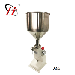 A03  Manual Filling Machine  All Liquid and Ointment Filler