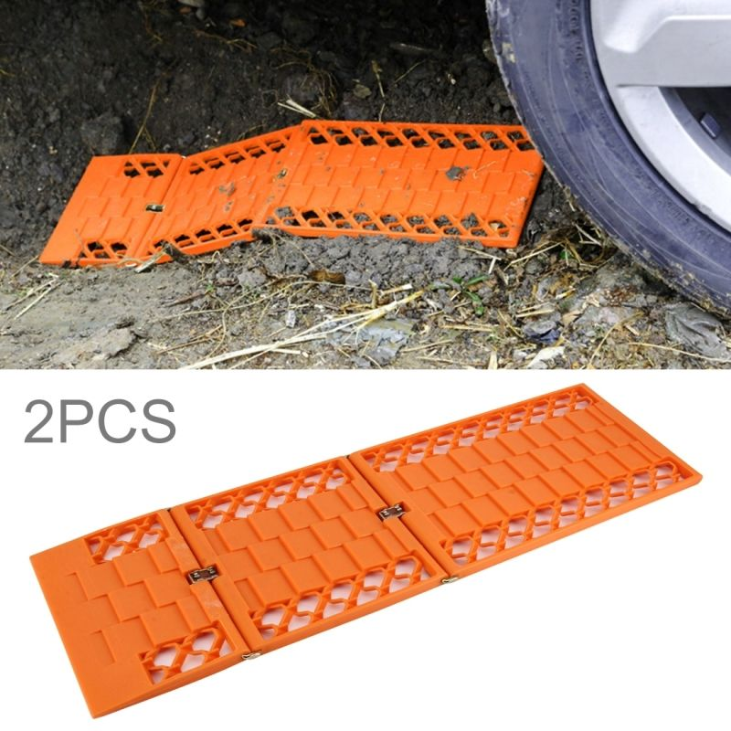 Mats Grippers Set of 2 Winter Traction for Snow Ice CarPlan Snow Treads
