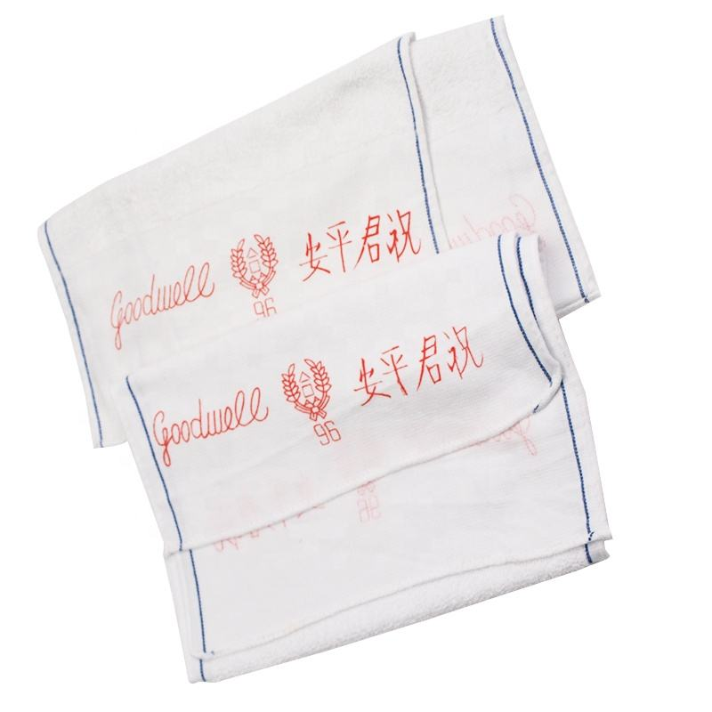 Wholesale 100% Cotton Hotel & Spa High Quality Morning Towel Soft Hotel Face Towel