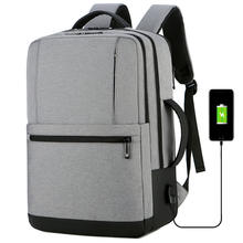 Newest Style top brand Multifunctional waterproof back pack outdoor men laptop backpack with USB charging