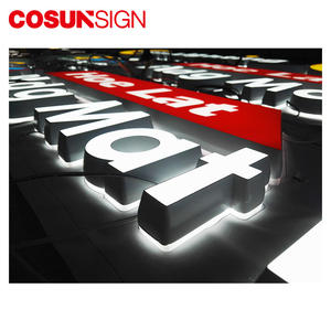 Cosunsign Customized Wall Large Acrylic Letter Wholesale Shenzhen