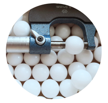 factory Wholesale soild 1mm to 50.8mm  POM PP PA66 PTFE cheap plastic balls 15mm 16mm 17mm