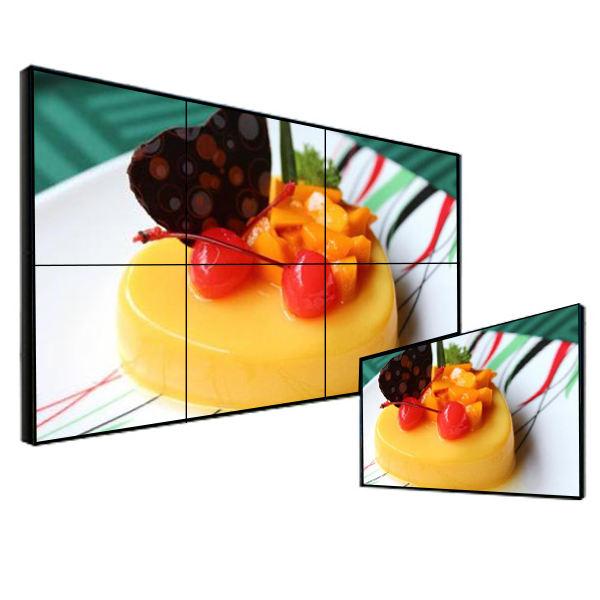 Cina fabbrica ultra narrow bezel 46 pollice 2x2 <span class=keywords><strong>LCD</strong></span> video wall con il regolatore