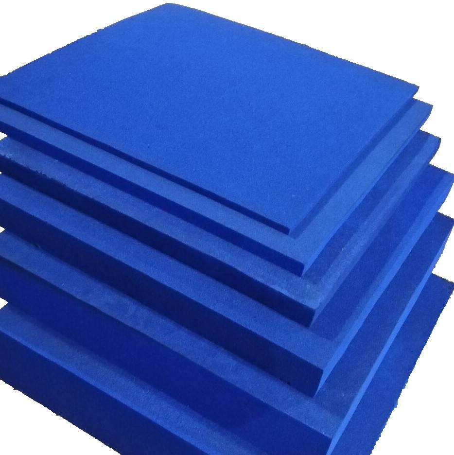 Different thickness flat soft foam absorber for microwave anechoic chamber