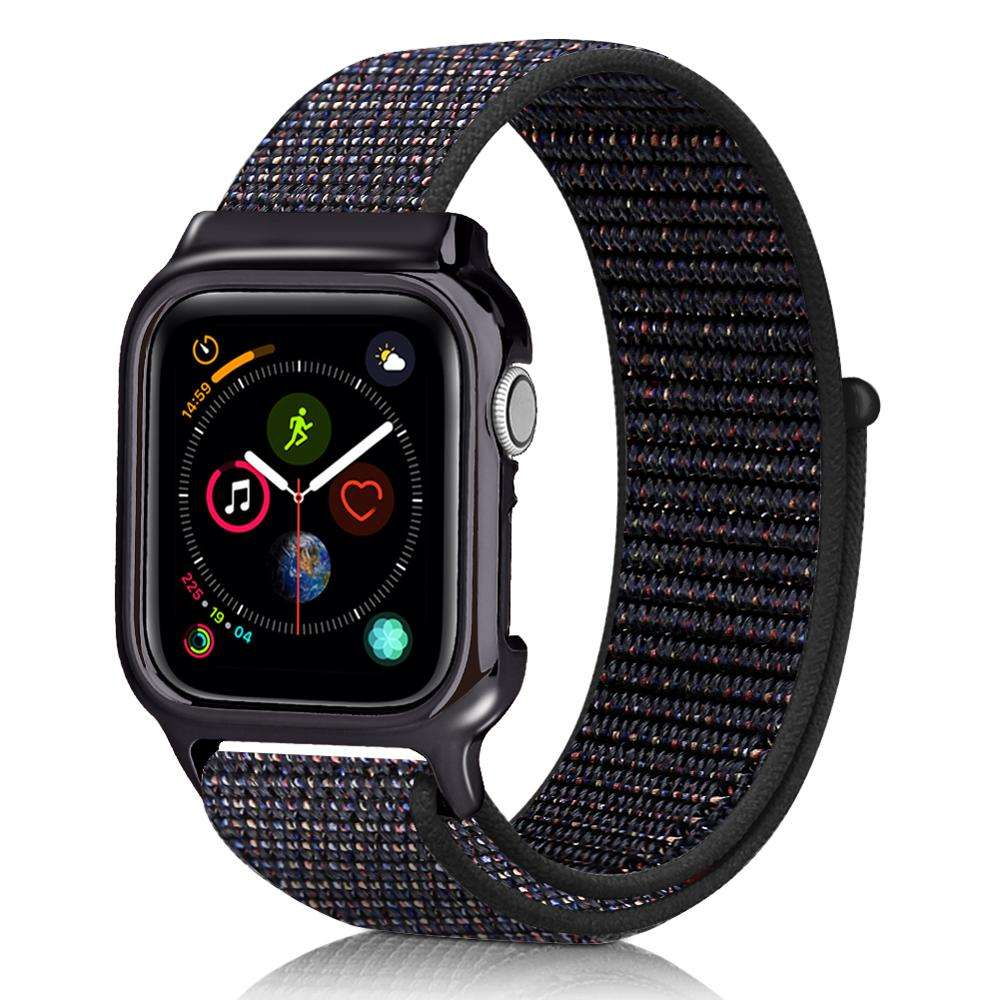 2020 New Color For Apple Watch Band 42mm 38mm Woven Nylon Fabric Strap