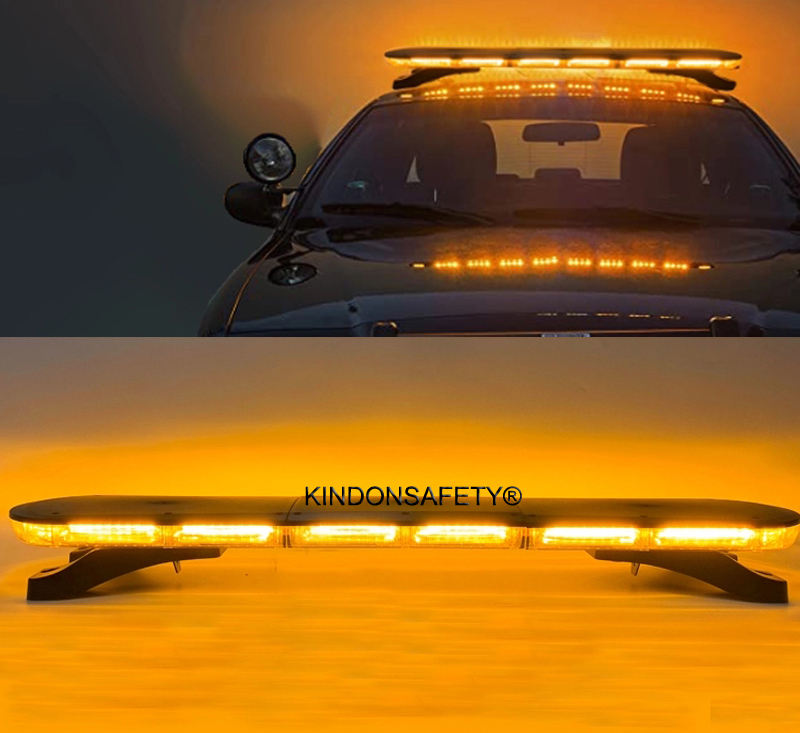New entwickelt ECE R65 genehmigt Black Housing 40 zoll Professional Amber LED Low Profile Roof Top Warning LightBar TBD9988