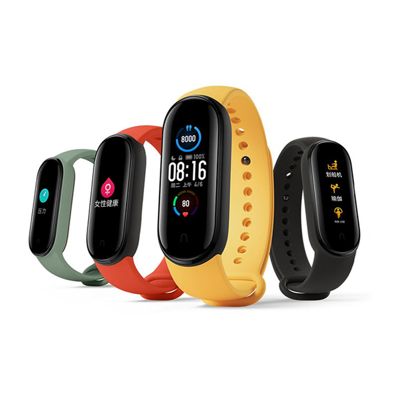 Xiaomi Mi Band 5 Smart Band Touch Screen Waterproof Fitness Tracker Sport Monitor Smart Bluetooth Wristbands