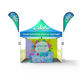 Outdoor 10x10 Canopy Gazebo Marquee Tent Foldable Gazebo Pop Up Advertising Tent for Trade Show Events