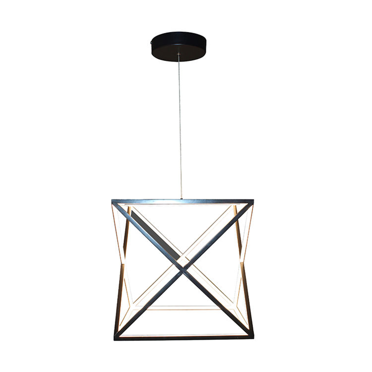 Manufacturer supply crystal tube led pendant lamp quality guarantee acrylic hanging lamp chandeliers and lamps