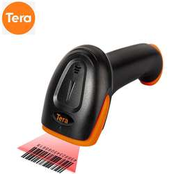 Tera portable 1D Wired Laser Reader Bar Code Scanner 2m ultr