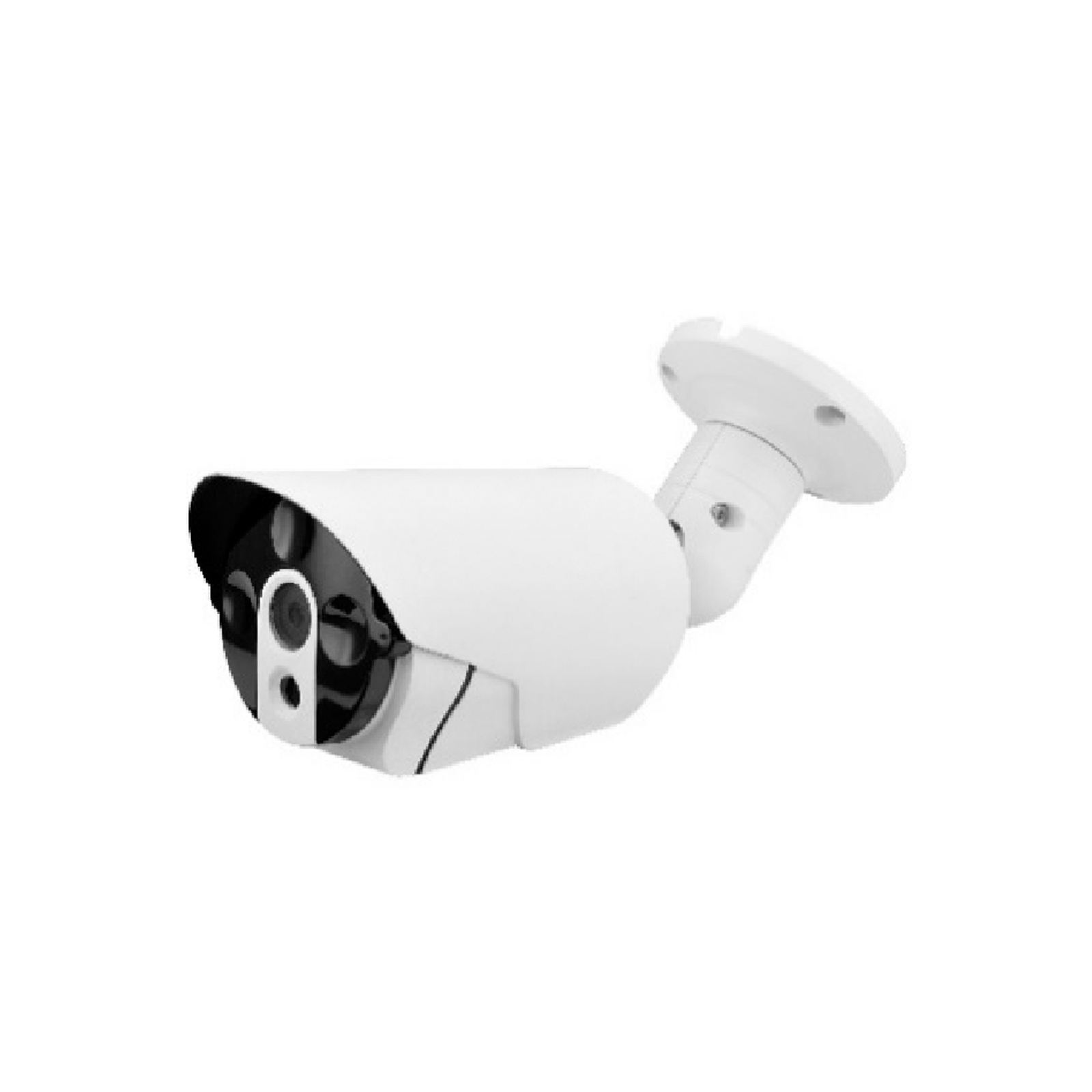 3.6 mm and optional 2.8/6 mm lenses are optimized for viewing angles that fit any situation/POE IP AI Basic Bullet Camera