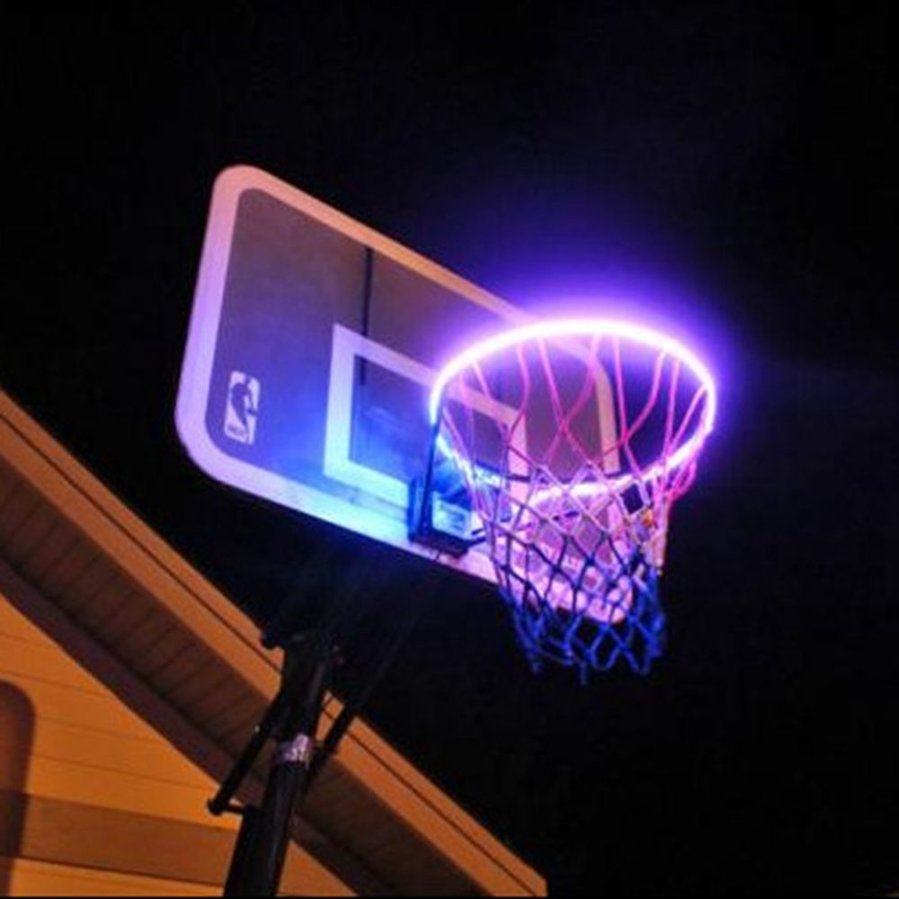 Led strip licht outdoor inductie basketbal velg licht licht Up de Basketbal Hoepel
