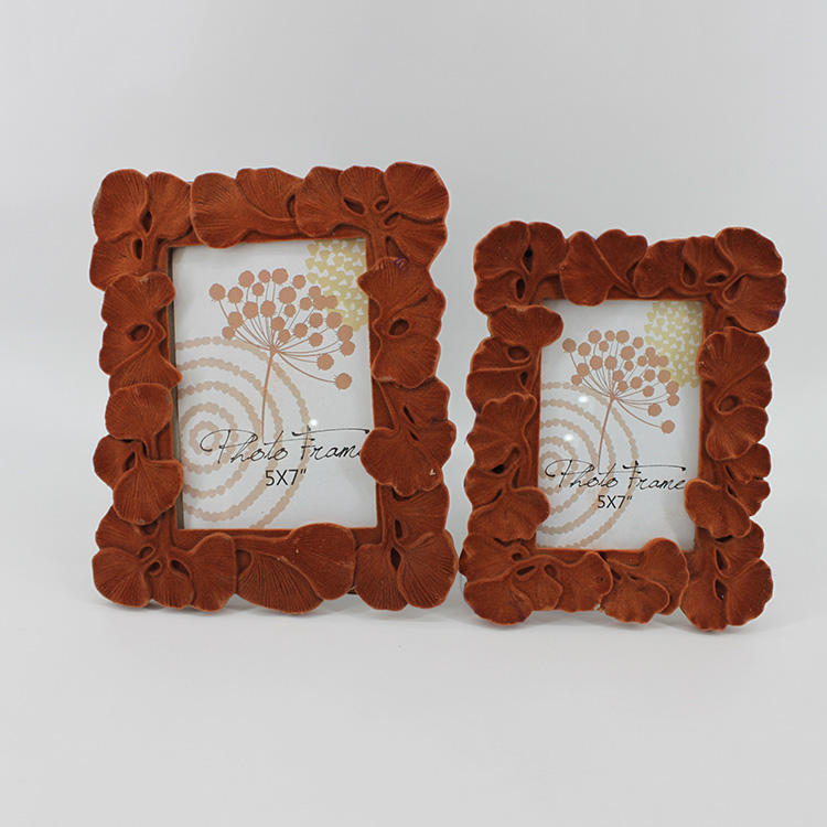China great quality design square photo frame flower modelling photo