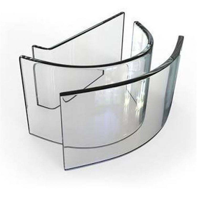 Bent Tempered Glass and Flat Tempered Glass