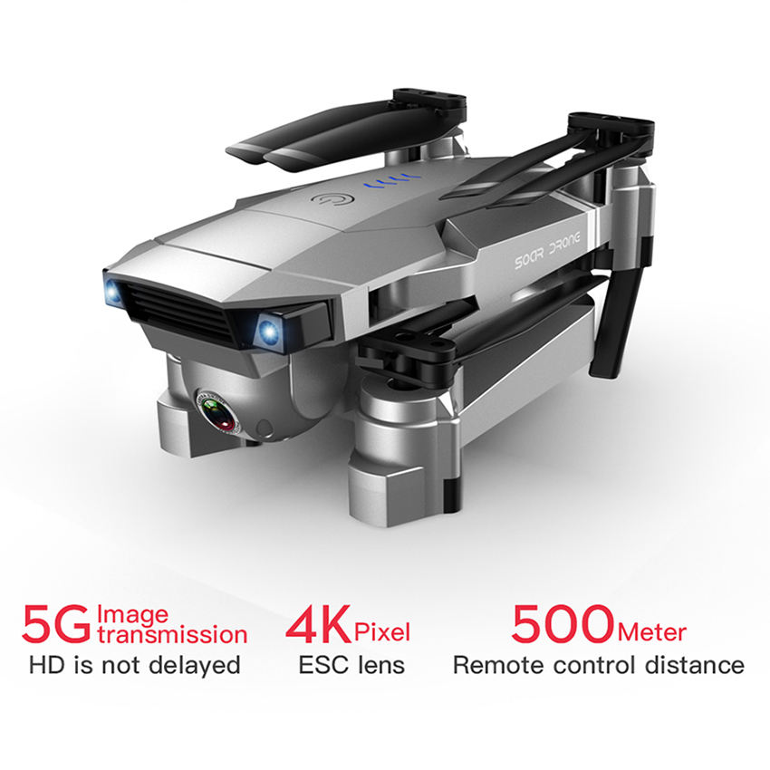 Sg907 Drone 4K Camera X50 Zoom Wide Anti-Shake Gesture Photo 5.8G Gps Drone With Wifi Fpv 1080P Hd Camera Quadcopter