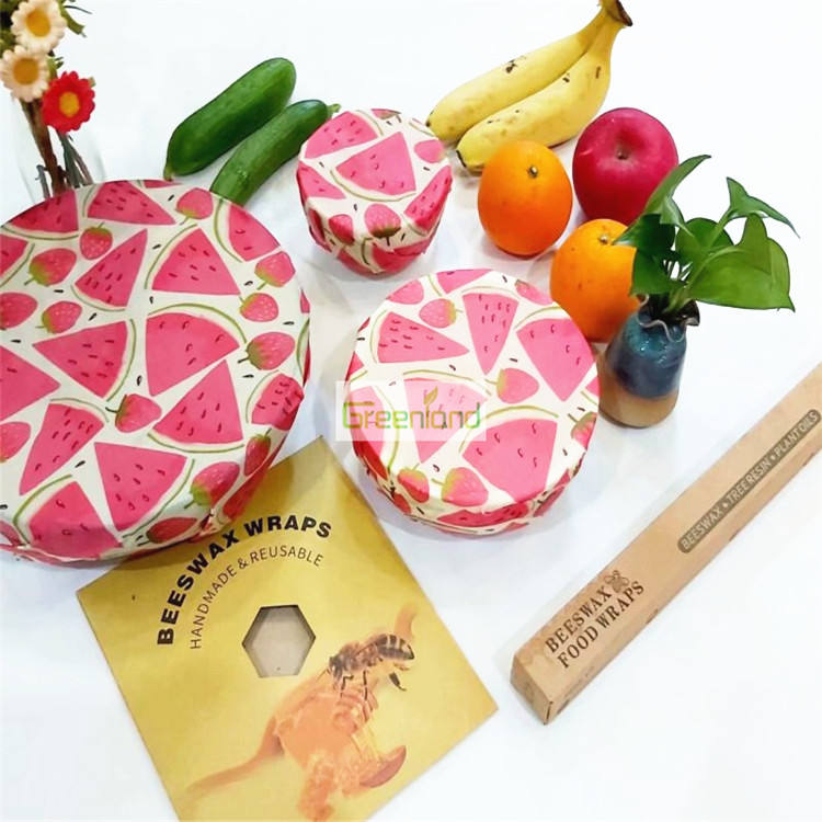 100% nature organic food wrap beeswax leather beeswax lunch bag beeswax mould