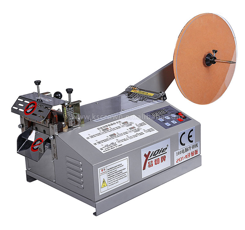 automatic hot cold knife nylon webbing tape ribbon cutter cutting machine