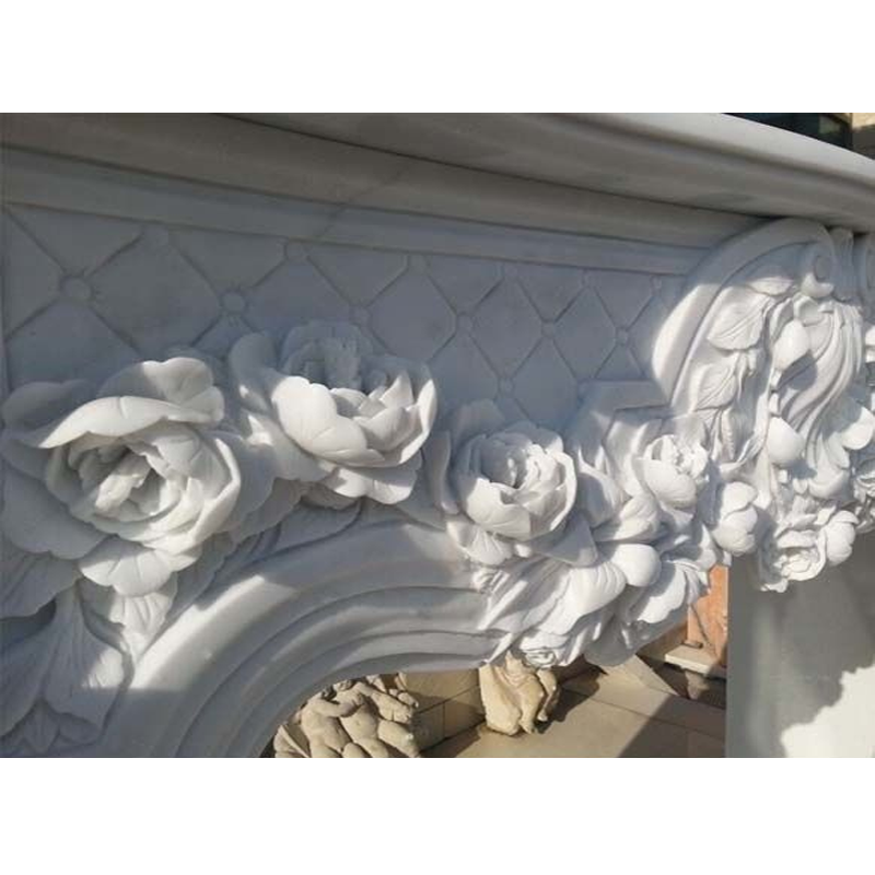 Good designs fireplace mantel white marble fireplace cultured marble fireplace
