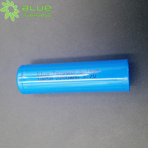 Blue Taiyang 2200mah li-ion 18650 cell polymer battery lithium 3.7v 2000mah