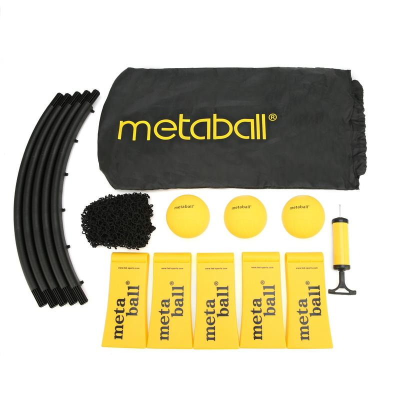 Custom LOGO & OEM Beach Lawn Mini Volleyball Spike Ball Game Set Spikeball Toy Outdoor Team Sports With 3 Silicon Balls